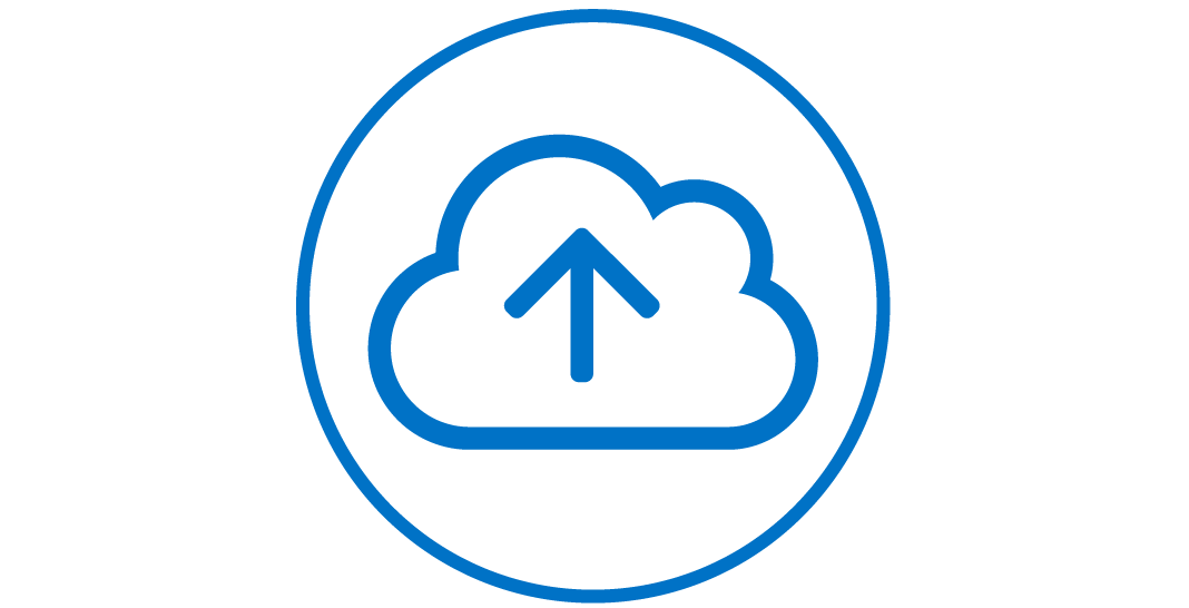 Cloud Upload Icon.