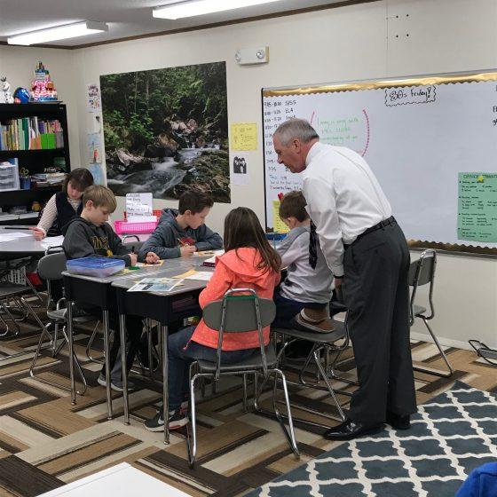 Junior Achievement Classroom