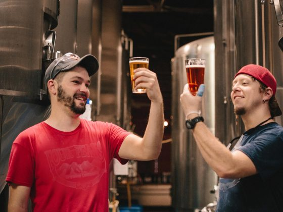 Raising a glass to national small business week, two brewery owners celebrate,