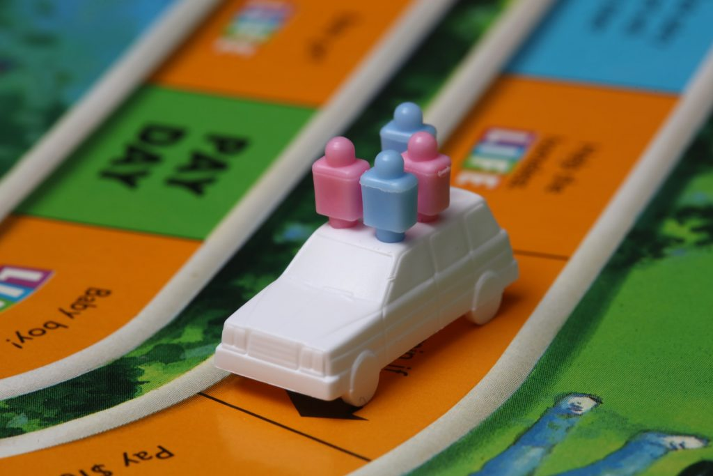 The Game of Life, the board game, is a great tool to get kids thinking about money and choices.